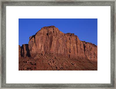 Red Mesa Framed Print by Garry Gay