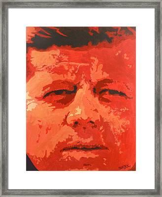 Red Nemesis Framed Print by Jack Hanzer Susco