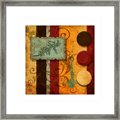 Red Orange Brown 2 Framed Print by Craig Tinder