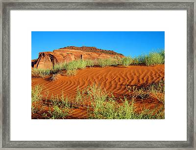 Red Planet Framed Print by George Buxbaum