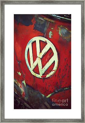 Red Rat Dub Framed Print by Tim Gainey
