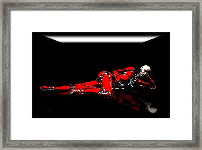 Red Reflection Framed Print by Bob Orsillo