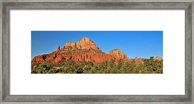 Red Rock Country Framed Print by Lori Deiter
