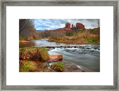 Red Rock Crossing Framed Print by Ryan Smith