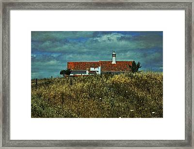 Red Roof - Road To Seville Framed Print by Mary Machare