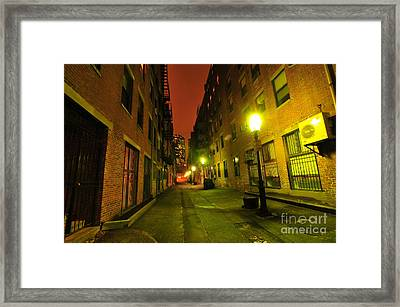 Red Skies At Night Framed Print by Catherine Reusch  Daley