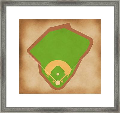 Red Sox Field Framed Print by Carl Scallop