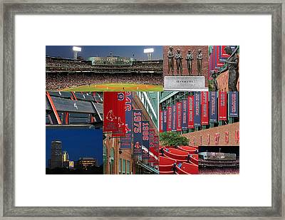 Red Sox Nation Framed Print by Juergen Roth