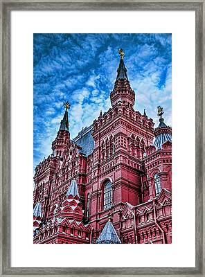 Red Square - Moscow Russia Framed Print by Jon Berghoff