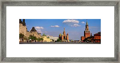 Red Square, Moscow, Russia Framed Print by Panoramic Images