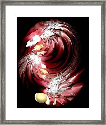 Red Tides Framed Print by Anastasiya Malakhova