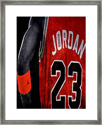 Red Wrist Band Framed Print by Brian Reaves