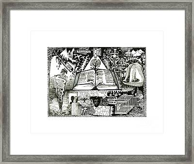 Redemption Framed Print by Anthony Hodgson