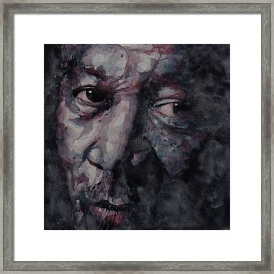 Redemption Man Framed Print by Paul Lovering