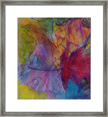 Redgum In Spring Breezes Framed Print by Claudia Smaletz