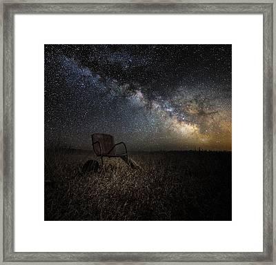 Redneck Planetarium Framed Print by Aaron J Groen