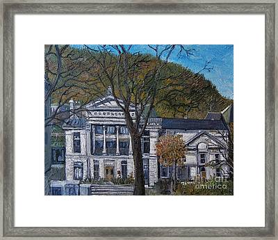 Redpath Museum Framed Print by Reb Frost
