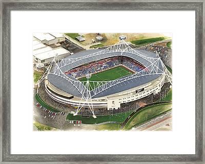 Reebok Stadium - Bolton Wanderers Framed Print by Kevin Fletcher