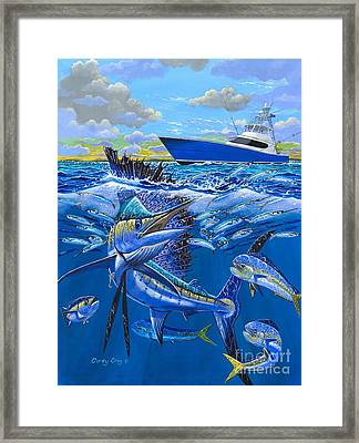 Reef Sail Off00151 Framed Print by Carey Chen