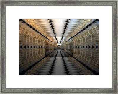 Ref-y-y Framed Print by Ines Garay-Colomba