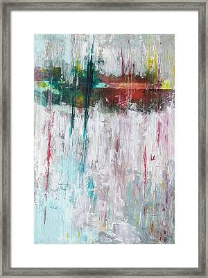 Reflected Echoes Framed Print by Gillian Pearce