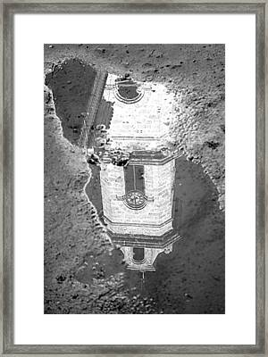 Reflecting About Religion Framed Print by Valentino Visentini