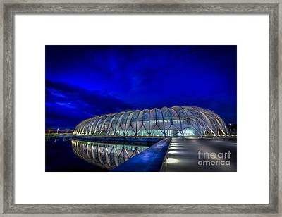 Reflecting The Future Framed Print by Marvin Spates