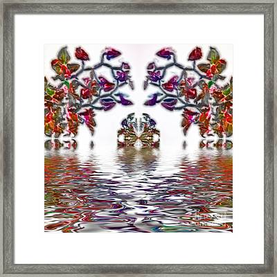 Reflecting Tranquility Framed Print by Kaye Menner