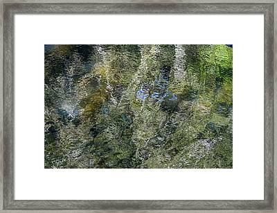 Reflection Art Framed Print by Roxy Hurtubise