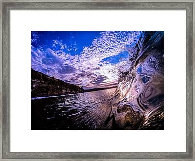 Reflection Framed Print by David Alexander