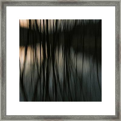 Reflection  Framed Print by David Walker