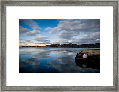 Reflection Framed Print by Mirra Photography