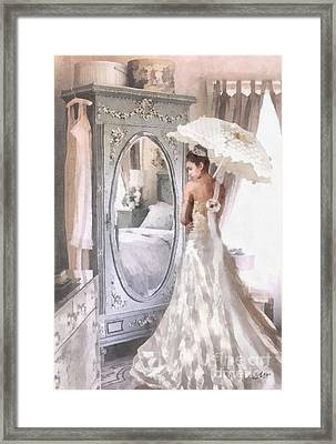 Reflection Framed Print by Mo T