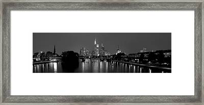 Reflection Of Buildings In Water, Main Framed Print by Panoramic Images