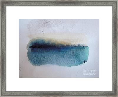 Lake Framed Print by Vesna Antic