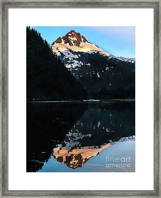 Reflection Framed Print by Robert Bales