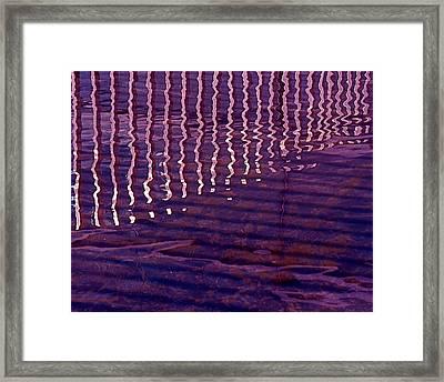Reflection Framed Print by Rona Black