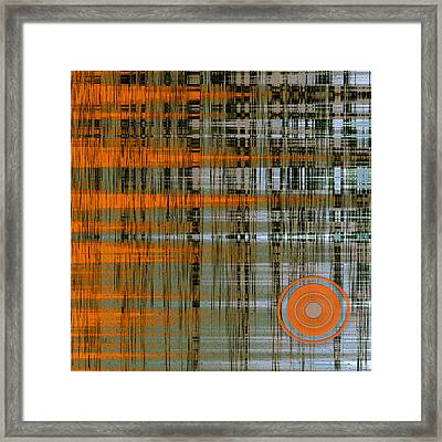 Reflection With Sun Framed Print by Ben and Raisa Gertsberg