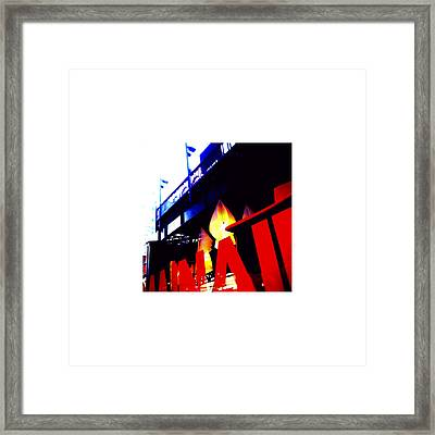 Reflection_07.30.12 Framed Print by Paul Hasara