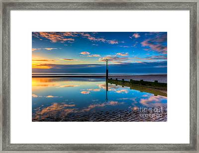 Reflections Framed Print by Adrian Evans