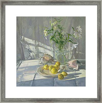 Reflections And Shadows  Framed Print by Timothy  Easton