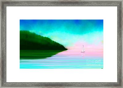 Reflections Framed Print by Anita Lewis