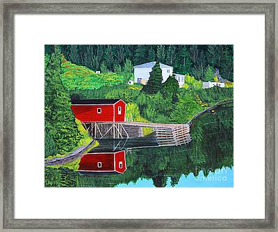 Reflections Framed Print by Barbara Griffin