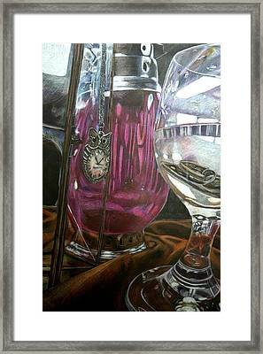 Reflections Framed Print by Blair Butler