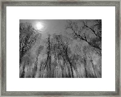 Reflections In Water 2 Framed Print by Kathleen Scanlan