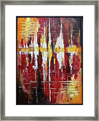 Reflections Iv Framed Print by Dan Earle