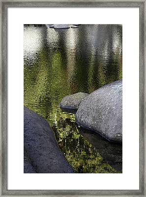 Reflections Framed Print by Les Cunliffe