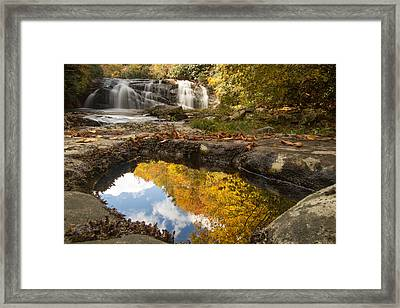Reflections Of Fall Framed Print by Doug McPherson