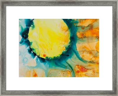 Reflections Of The Universe Series No 1392 Framed Print by Ilisa  Millermoon