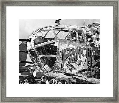 Reflections On A Younger Self Framed Print by Arne Hansen